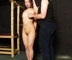 Bizarre asian tounge torture and face bondage of japanese..