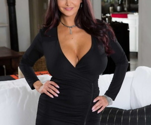 Delicious mom Ava Addams shows her big tits and ass in..