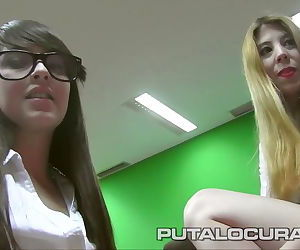 PUTA LOCURA Punishing Busty schoolgirls