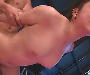 An asian blowjob and fucking with Hinata