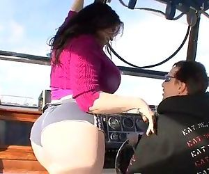 Daphne RosenBig Ass Boat Ride