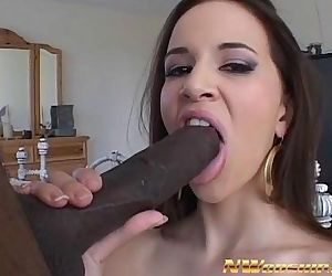 hot latina girl interracial porn big black dick