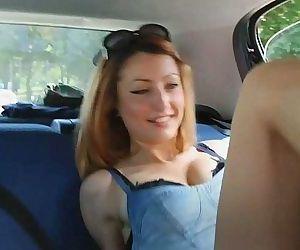 UNP001- Brat Car- Italian Girl Foot Smothering Man- Free - 5 min HD