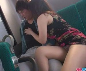 Public japan blow job and creampie with Chinatsu Kurusu - 8 min