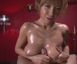 Oiled Up Teen Sumire Matsu Sucks Dick In POV - 8 min