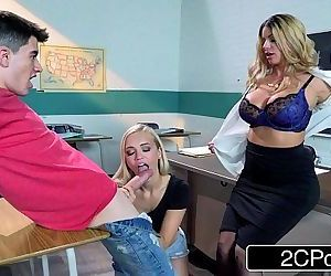 Horny Teacher After Class Fuck-FestBrooklyn Chase, Alex Grey, JordiHD