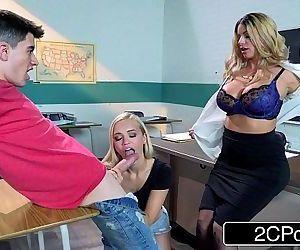 Horny Teacher After Class Fuck-FestBrooklyn Chase, Alex Grey, JordiHD