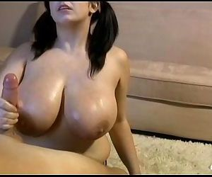 Big-Titted Teen Handjob - 7 min