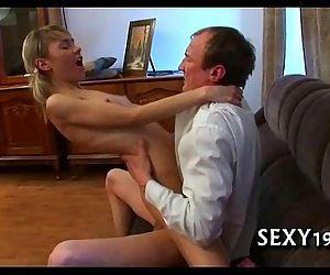 Tricky teacher seducing student - 5 min