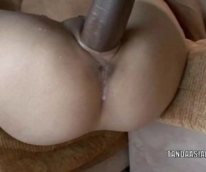 Asian hottie Miley Villa gets her tiny twat fucked hard - 8 min HD