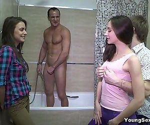 Young Sex PartiesThree-way tube8 gangbang xvideos becomes a redtube teen-pornHD