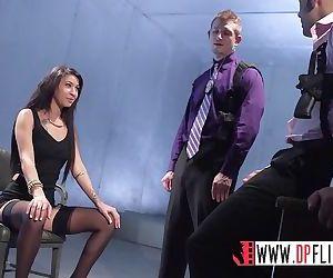 Digital Playground- Sexy Suspect Sucks Two Detective Dicks