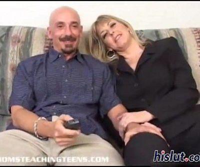 These blondes shared cum