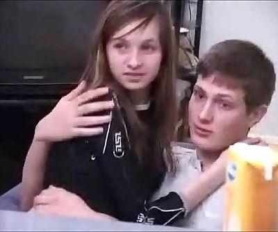 Two boys steal russian schoolgirls virginity