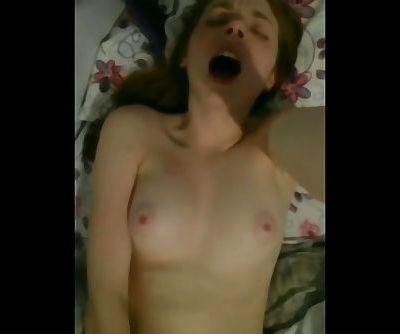 Redhead Teen Masturbating