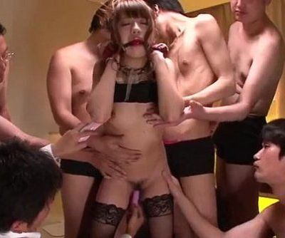 Superb gangbang with obedient Hazuki Okita - 12 min