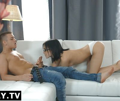 Anally.tv Synthpop star Stefani falls in love with anal sex