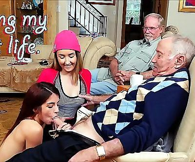 BLUE PILL MENOld Men Living Their Best Life With Gigi Flamez and Sally Squirt 12 min 1080p