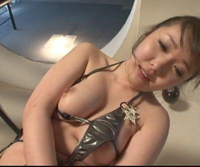 Cute Haruka Oosawa pounded by sex toys - 8 min