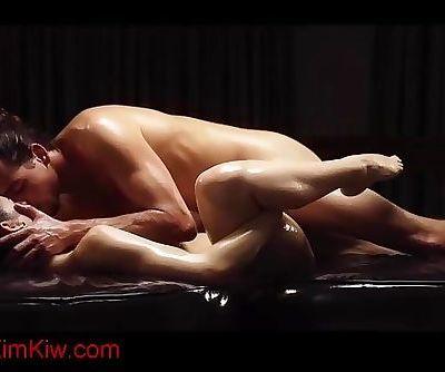 Sexy couple doing an amazing massage - kimkiw.com