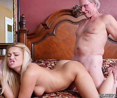 Sexy 18 Year Old Fucks 78 Year Old GrandpaHD