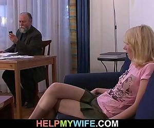 Old man pays him to fuck his..