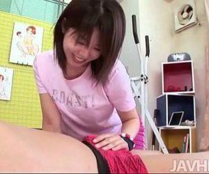 Cute and horny Rika Kitano uses..