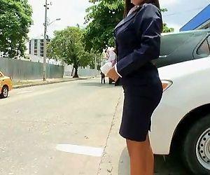 Secretaria colombiana caliente -..