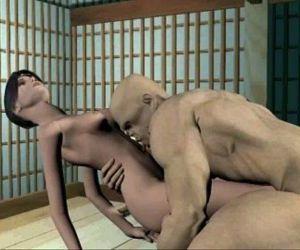 3D Animation: Ninja Scroll 1 - 58..