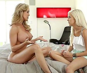Halle Von and Brandi Love at..