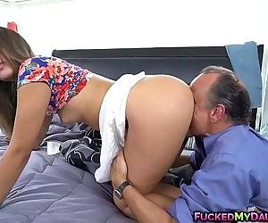 Liza Rowe spreads her pussy for..