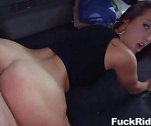 Kelsi Monroe Hardcore Sex in Bus..