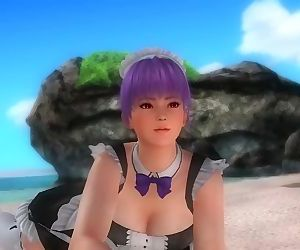 Dead or alive 5 Ayane sexy teen..