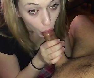 Slutty Sexy Teen GF Give Sloppy..