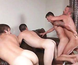 Stepfathers Secret Part 1 Asher Hawk, Dirk Caber, Johnny Rapid, Trevor Spade