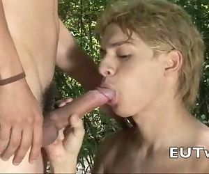 twink bj and facial