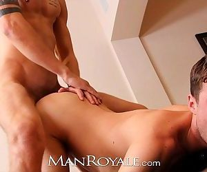 Manroyale Hairy hunks suck cock instead of watch TVHD