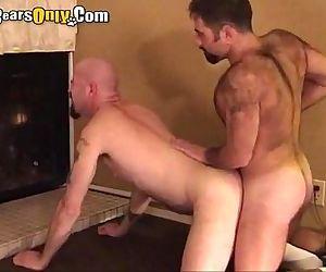 Hairy Daddies Enjoys Doggy Style Pummeling