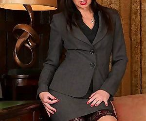 Office cougar tracey lain naked in stockings and heels - part 144