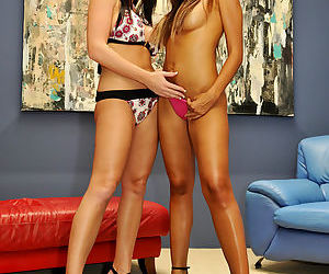 Melissa and Katsuni pose together..