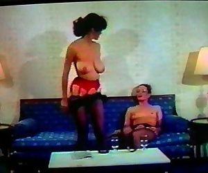 Vintage 80s Lesbian scene