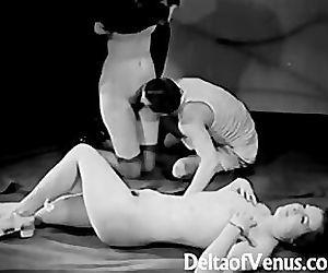 Vintage Porn 1930s - FFM..