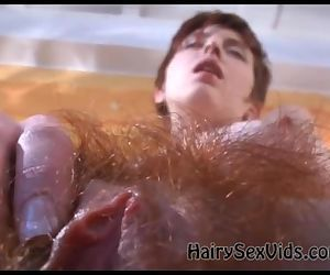 Real wet hairy..