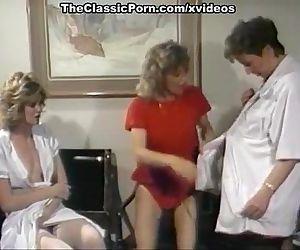 Three nurse plunge in lesbo orgy