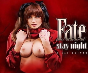 Busty Stacy Cruz as Rin Tohsaka Commands you to satisfy her