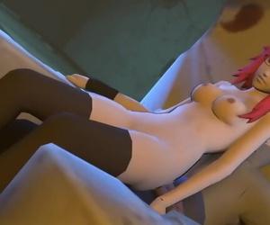 Naruto 3D Hentai - Sasuke Pounds Karin