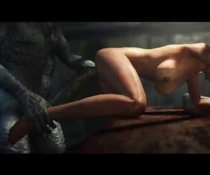 LAS PLAGAS Resident Evil 3d Porno