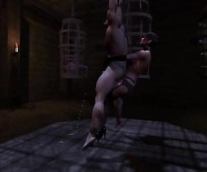 SFM VR 3D 60FPS Huge Tits Domme Female dom Sissy Faux-cock..