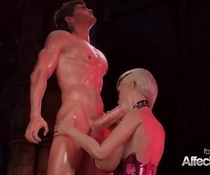 Blonde Big Tits Vampire Anal invasion Sex