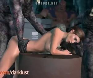 Lara Croft is Predominated by Monsters 2019 SFM